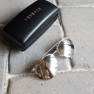5fb6c7a2e03d Faux Versace style glasses NEW! But has a scratch!  M 5b22df6512cd4a0cf0e01406. Other Accessories you may like. Versace  sunglasses